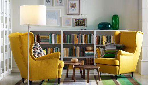 Ikea Sessel Gelb ~ Sessel wie z b strandmon ohrensessel skiftebo gelb startup