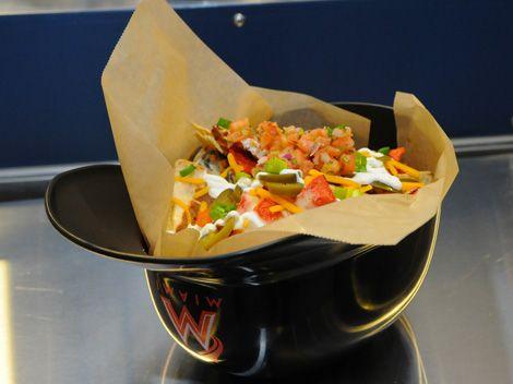 Top 9 Food Choices At Miami Marlins Baseball Park Miami Com Food Ballpark Food Marlins Baseball