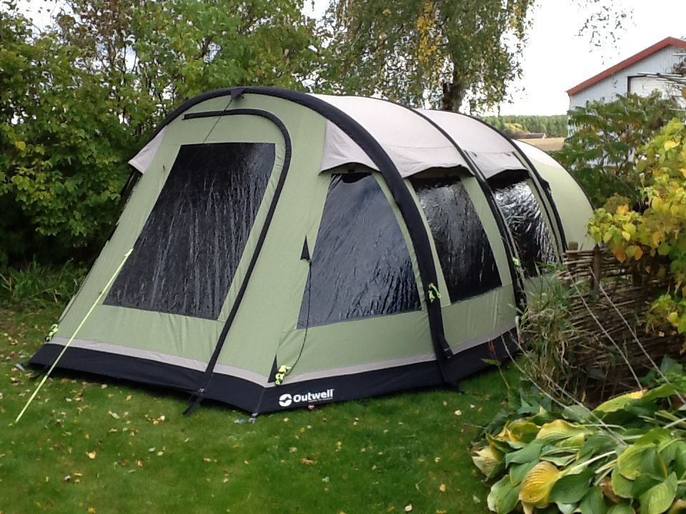 Our new  smart air  tent from #Outwell & Our new