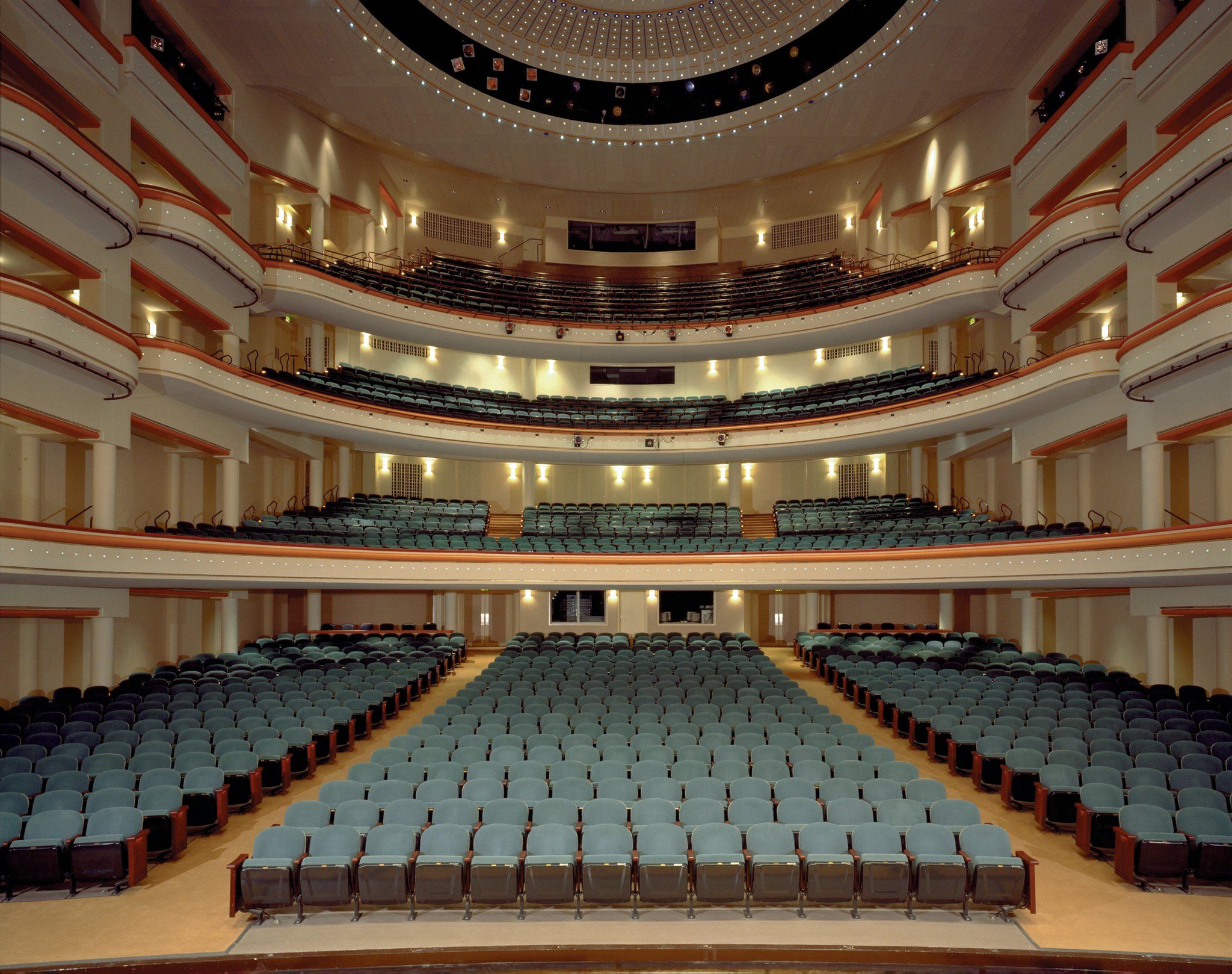 DPAC Durham Performing Arts Center View from the upper balcony repinned by 3 My North Carolina Home Pinterest