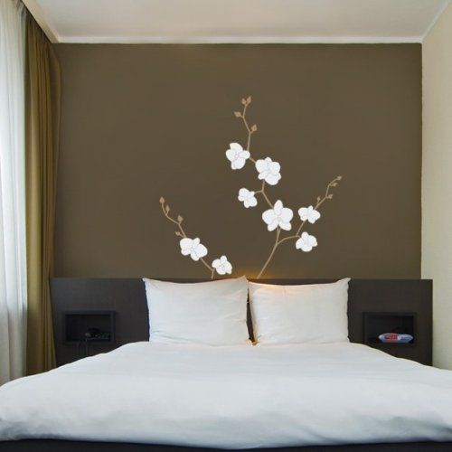 Beautiful Large Wall Decals | Orchid Flower Decal   Nature Vinyl Wall Decal |  SimpleShapes . Part 13