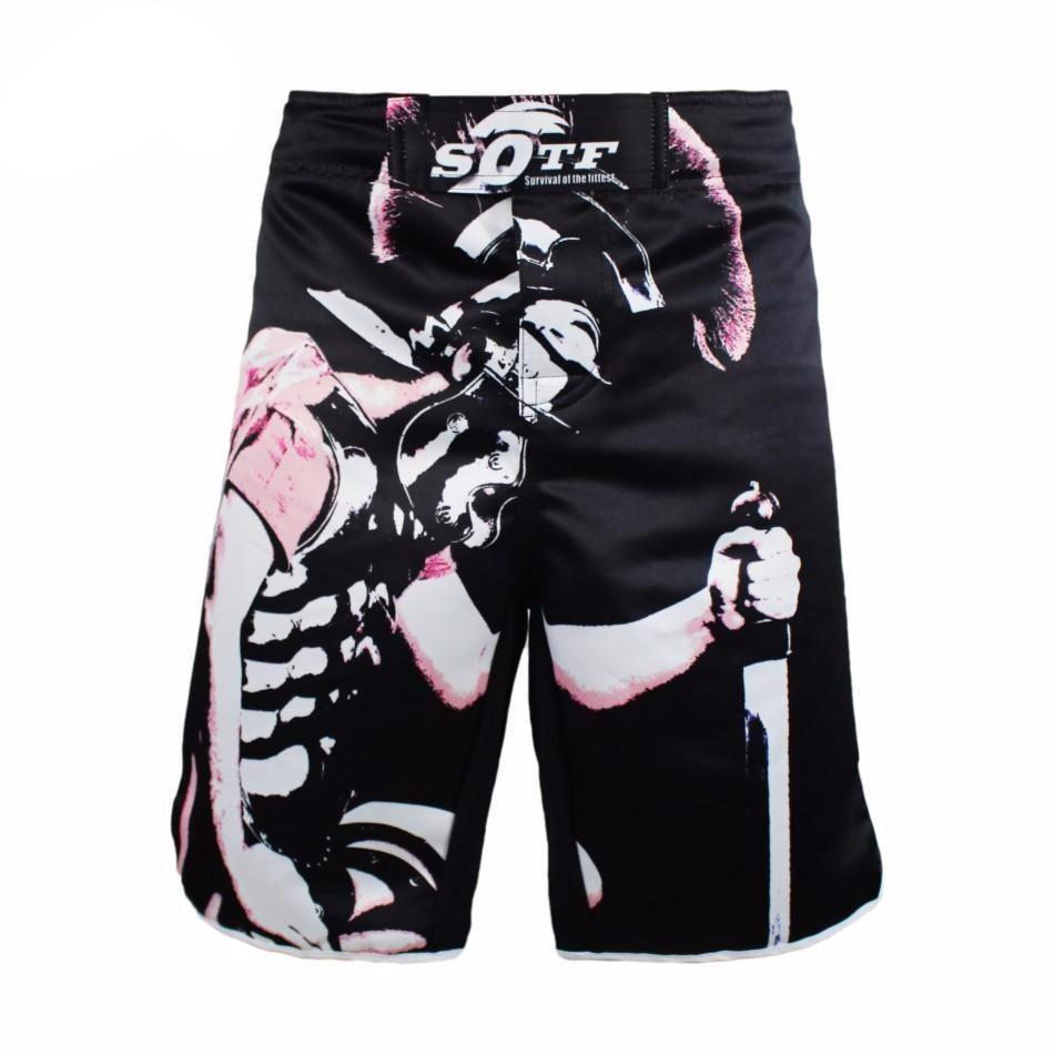 MMA Shorts Bulldog Muay Thai Boxing Short Pants Fighting Sport Kick Men Fight