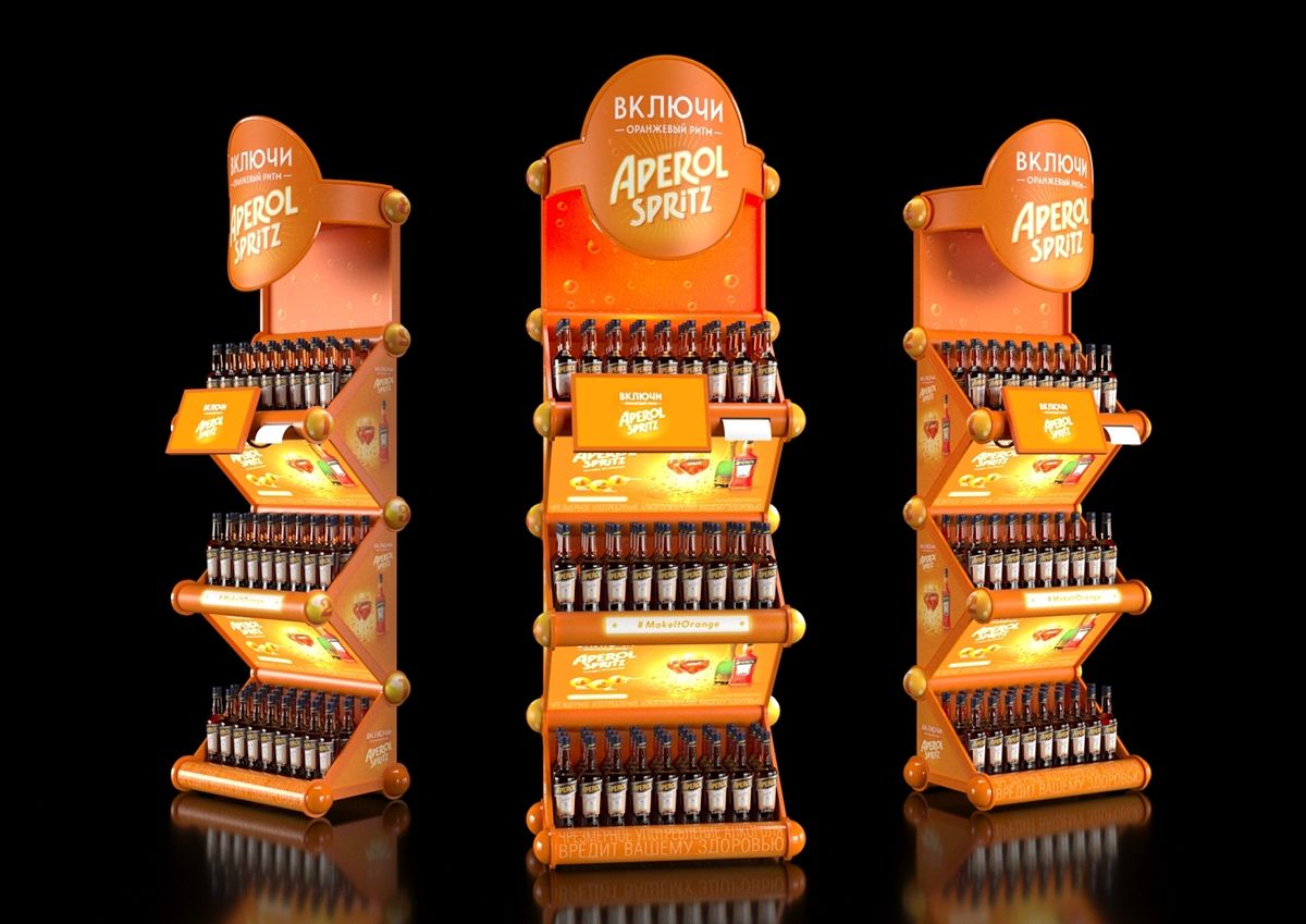 Aperol posm on behance with images