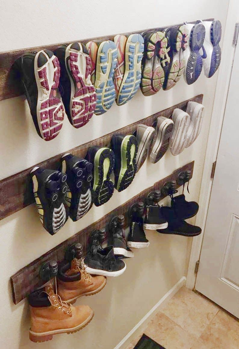 39 Genius Shoe Storage Ideas For Any Size Family! | Posh Pennies