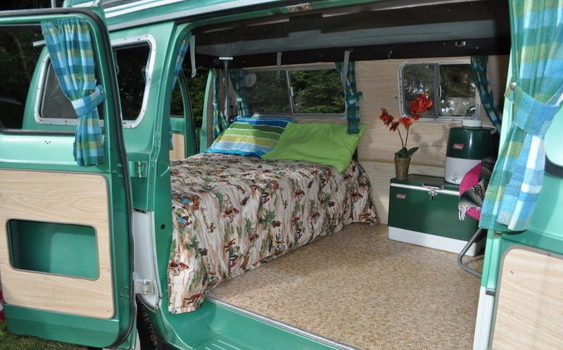 1971 Dodge Tradesman 200 Camper Van Survivor Surf Wagon Original