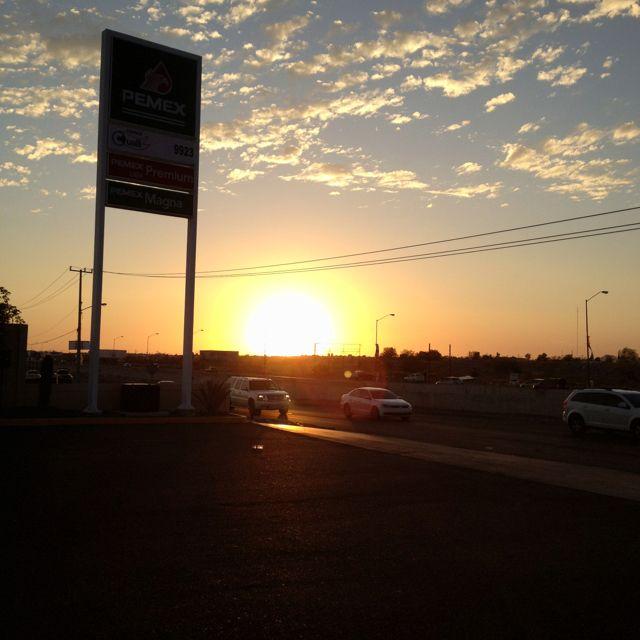 Sunset ay Hermosillo, Sonora