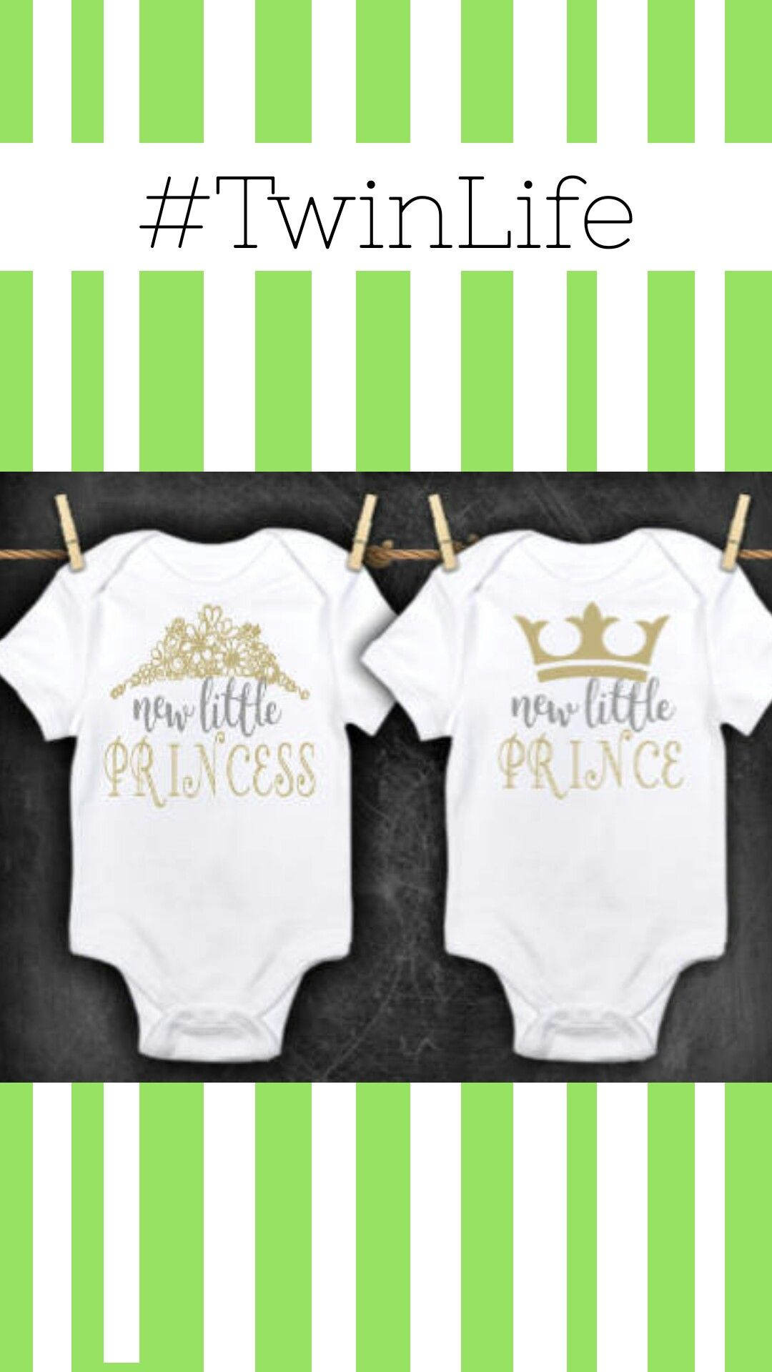 aa6da66033012 TWIN OUTFITS, Boy girl twin clothes, prince and princess outfit ...