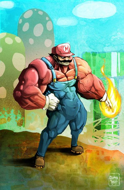 epic super mario art 4