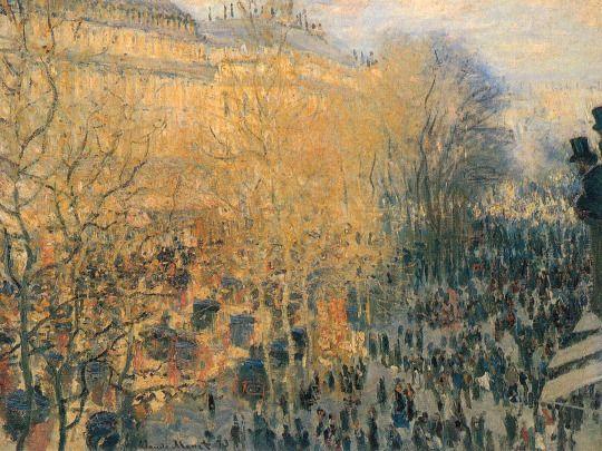 Boulevard of Capucines, 1883  Claude Monet