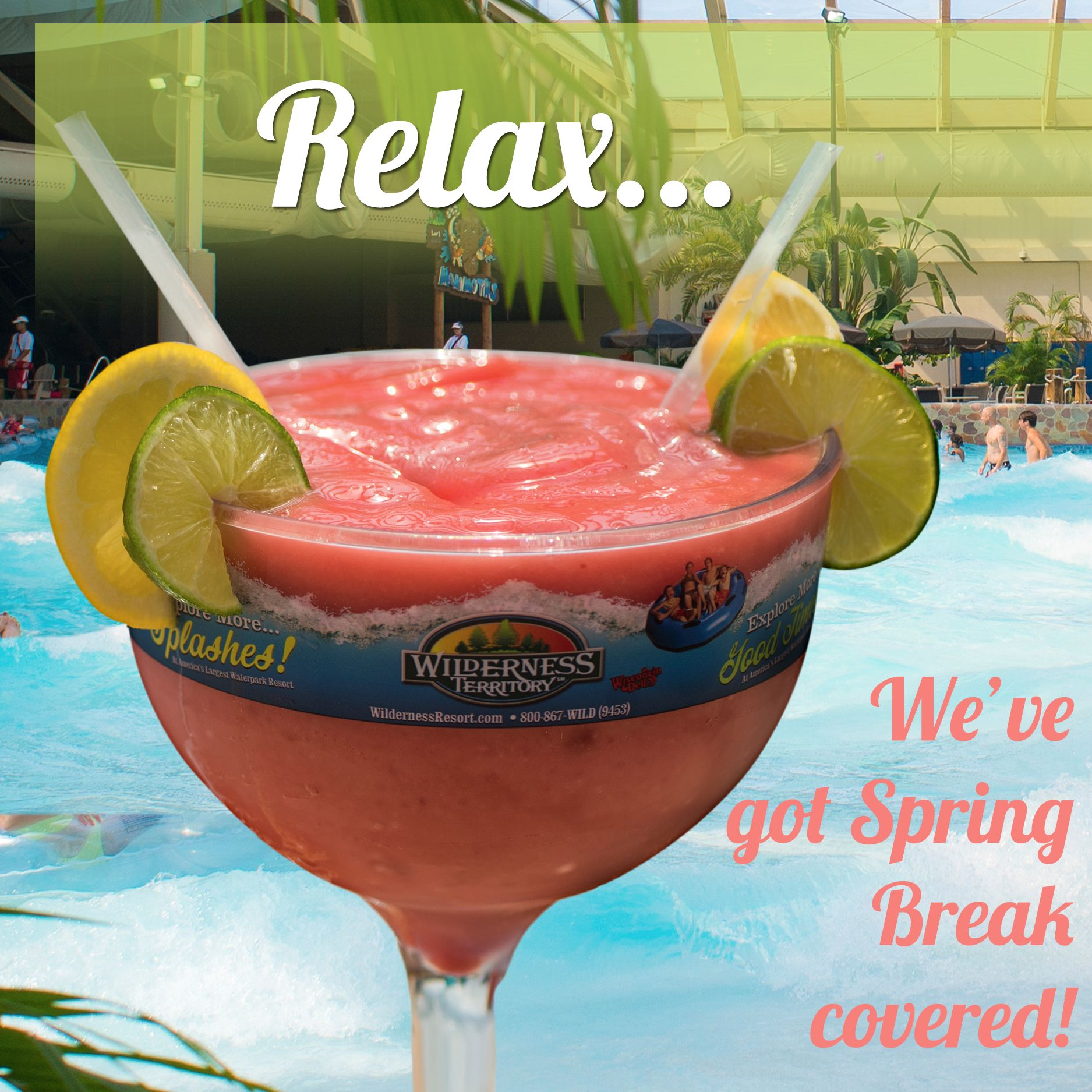 No Matter The Weather Outside Wilderness Resort Has Your Spring Break Getaway Covered Wilderness Resort Resorts In Wisconsin Wilderness Waterpark