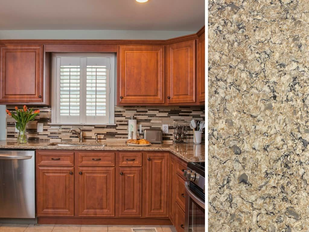 What Countertop Color Looks Best with Cherry Cabinets ...