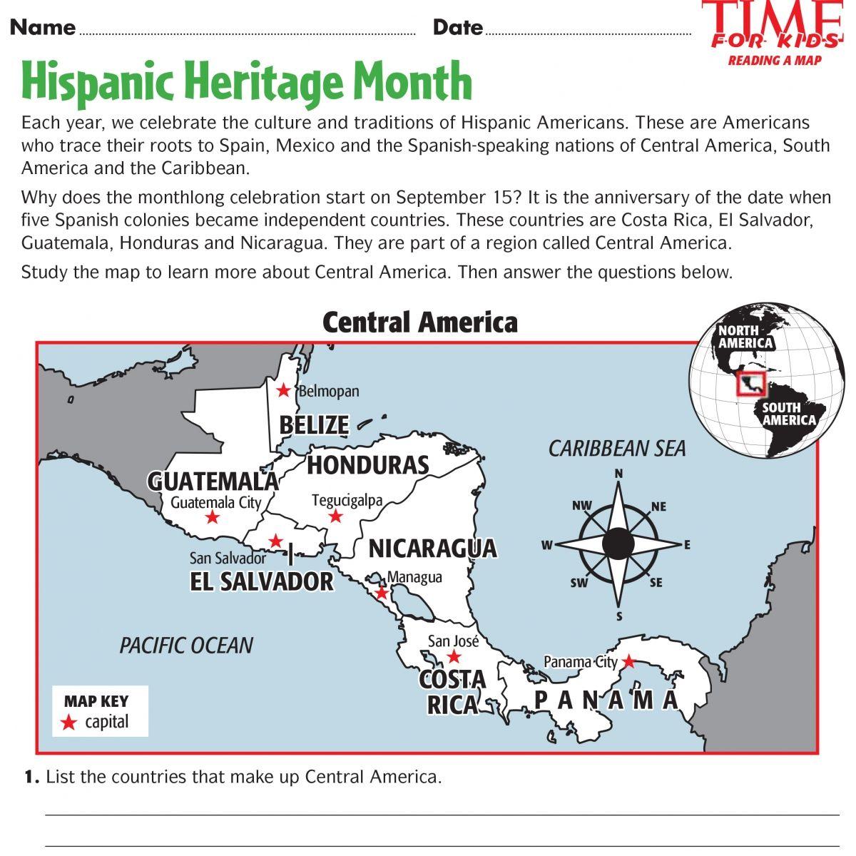 for teachers download sample worksheets for hispanic heritage