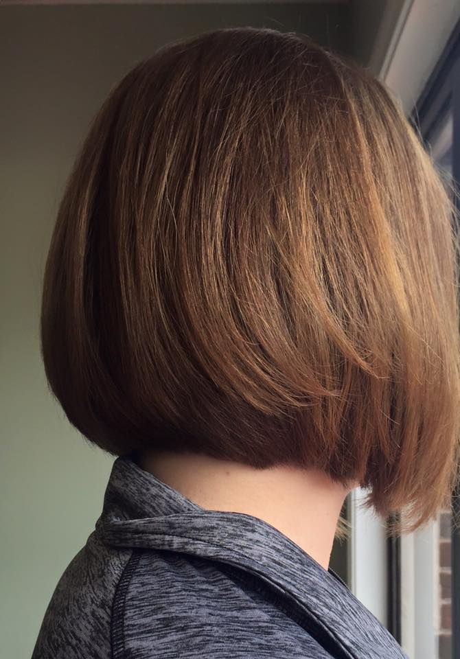 Traditional Bob Haircut With Soft Blonde Brown Color Sj Hair