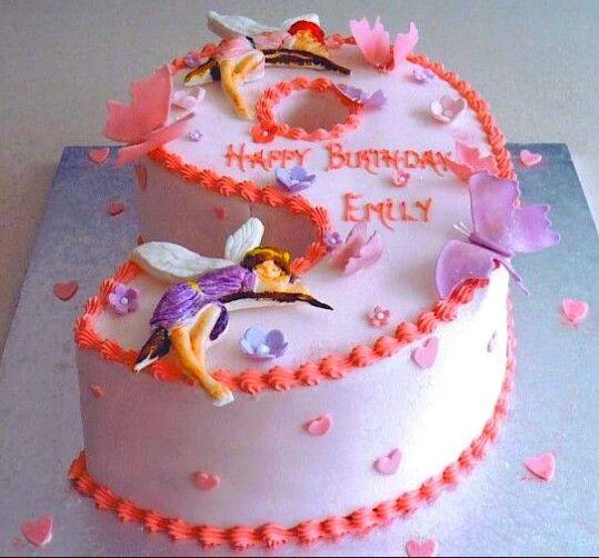No 9 Shaped Cake