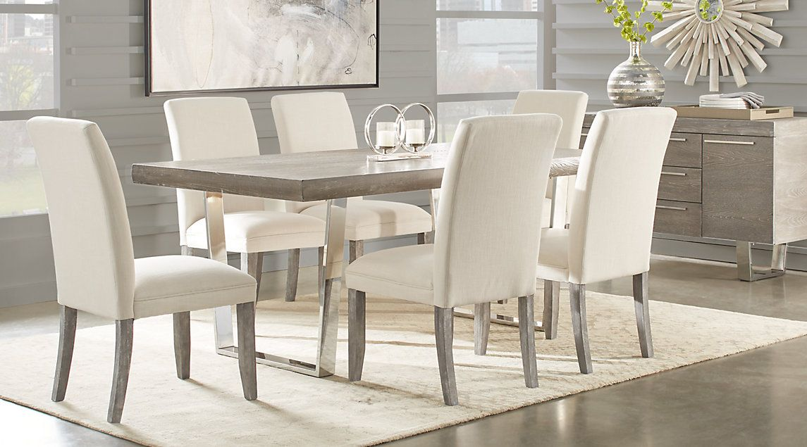 Cindy Crawford Home San Francisco Gray 5 Pc Dining Room