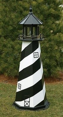 The Lighthouse Peddler Cape Hatteras Wooden Lawn Replicas Ornamental Yard