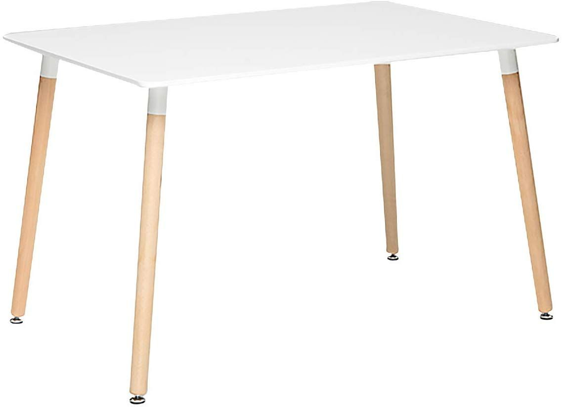 Midcentury Rectangular Table 89 99 Rectangular Table Square Dining Tables Modern Dining Table