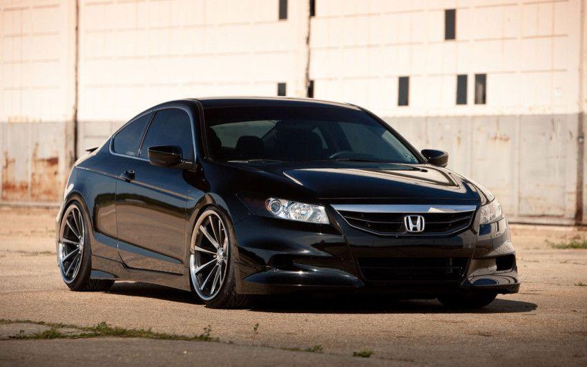 Honda Accord Coupe stanced, Vossen Wheels I think Honda