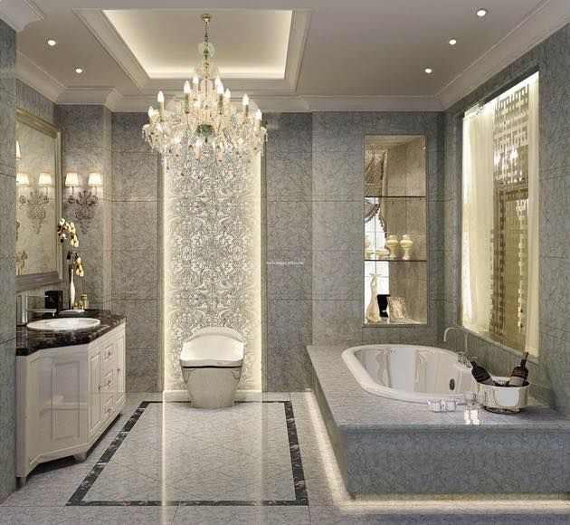 Luxury And Shiny  Bathroom  Pinterest  Luxury Master Bathrooms Impressive Luxurious Bathroom Decorating Design