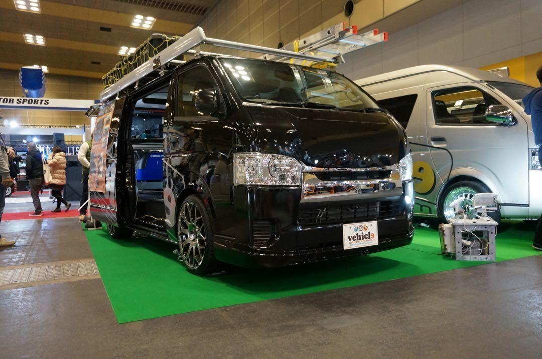 Uivehicle ユーアイビークル Jobace ベース車両 ハイエース200系