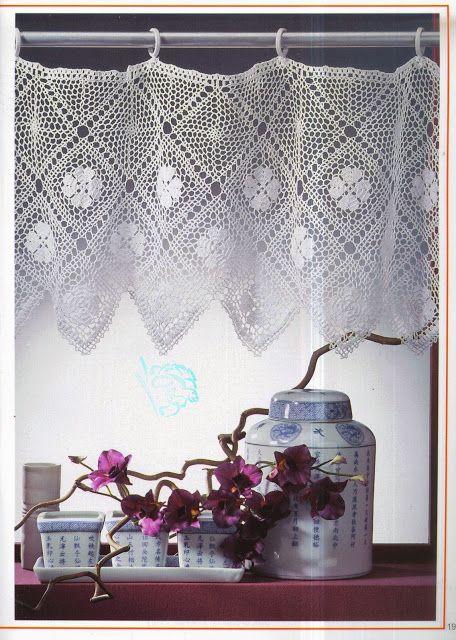 PATRONES GRATIS DE CROCHET: Patrón bellas cortinas a crochet ...