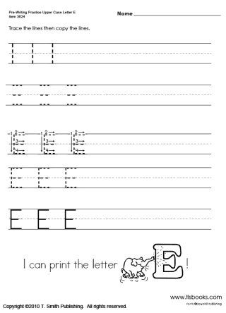 snapshot image of one page of pre writing upper case letters school stuff pinterest. Black Bedroom Furniture Sets. Home Design Ideas