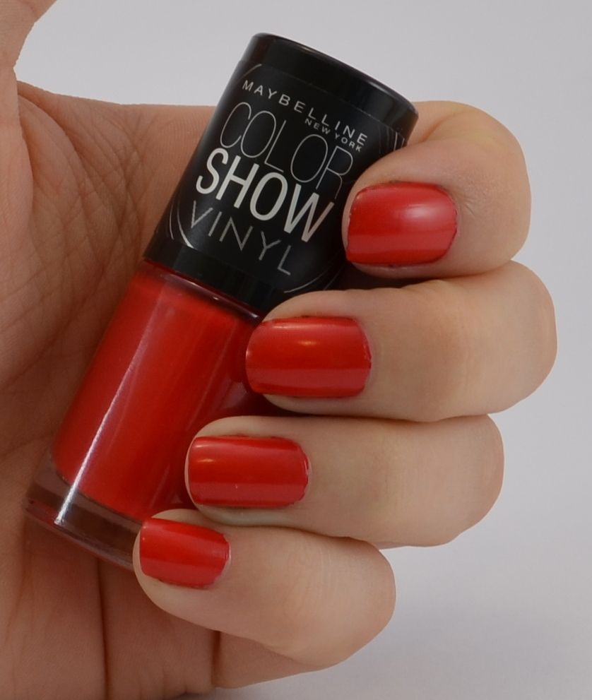 Maybelline color show vinyl Nagellack record red | meine Nagellacke ...