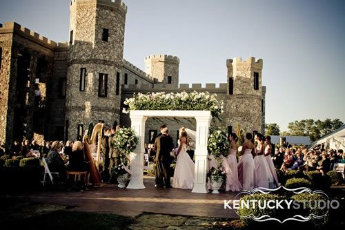 A Wedding At Real Castle In Kentucky Countryside