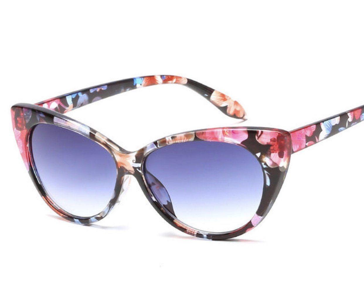 "a767363edc Meekswear ""Floral"" Designer Sunglasses"