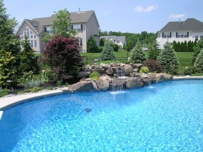 custom landscaping project