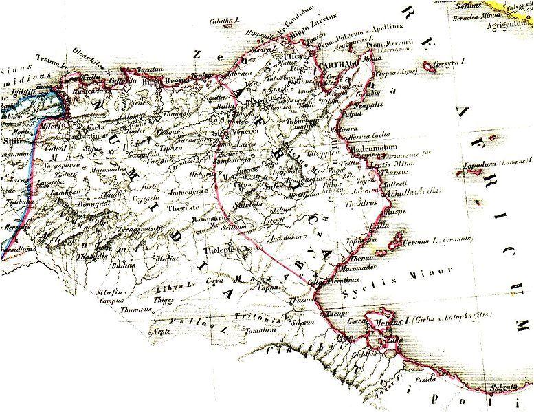 Numidia Roman Province