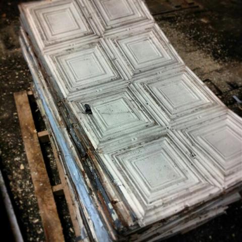Antique Tin Ceiling Tile 2 X4