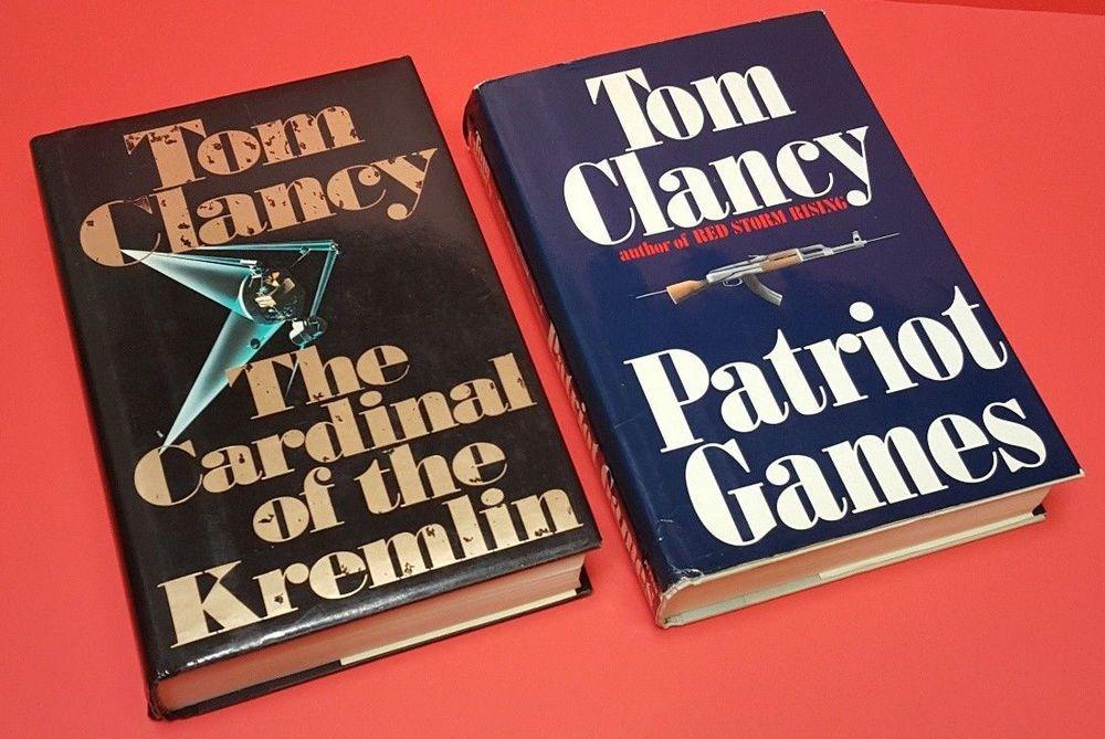 Patriot games cardinal of kremlin tom clancy1st edition
