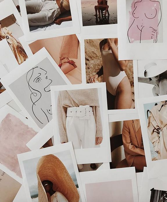 inspiring photo prints with white borders. / sfgirlbybay