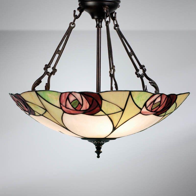Interiors 1900 Ta20ip Ingram 3 Chain Pendant In 2020 Tiffany Ceiling Lights Ceiling Pendant Lights Ceiling Lights