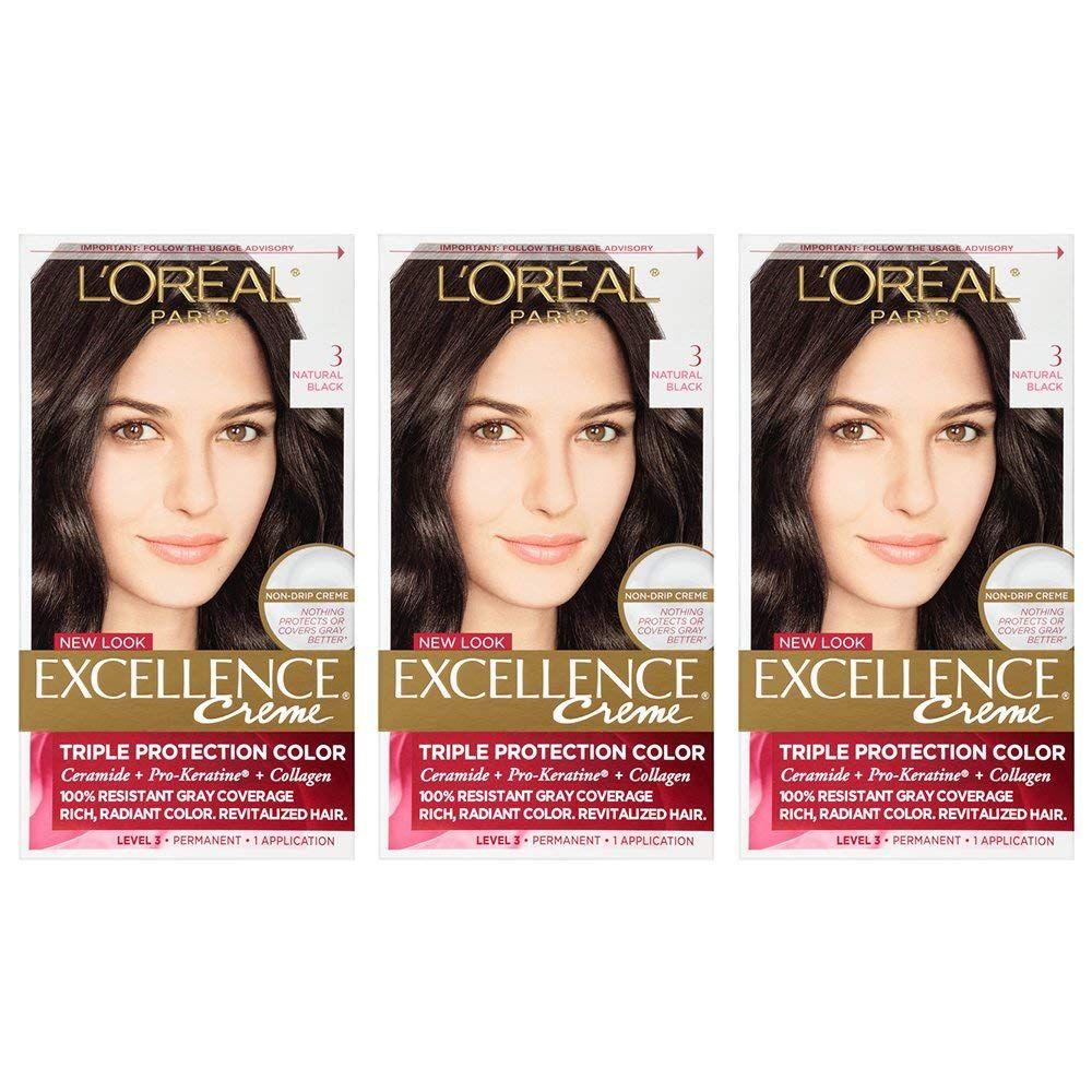 L'Oréal Paris Excellence Créme Permanent Hair Color, 3