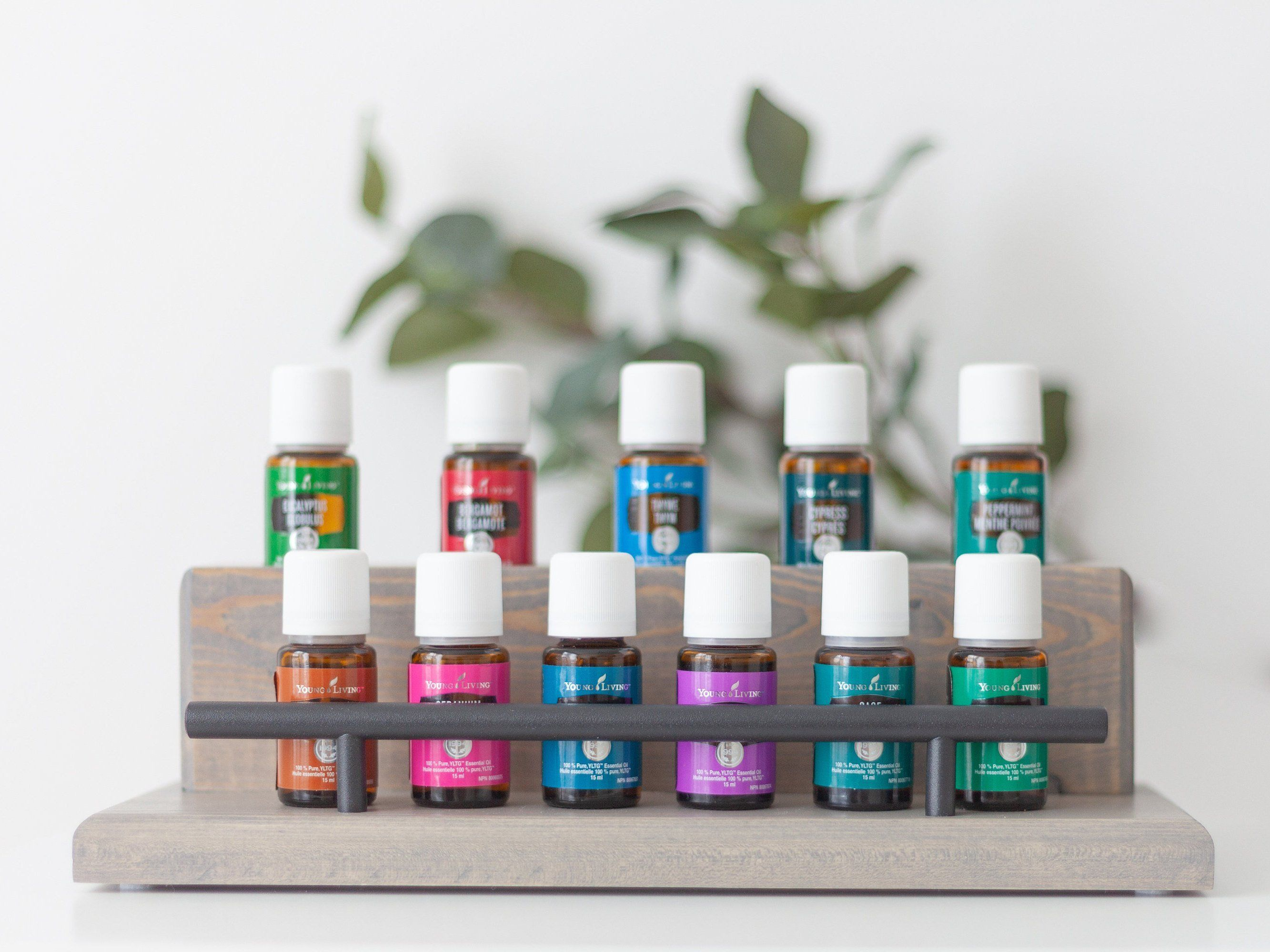 Essential Oil Tabletop Display Stand, Essential Oil