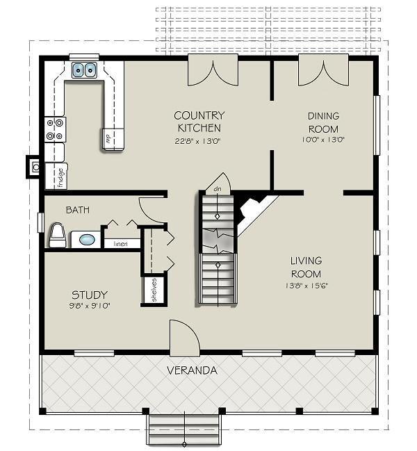 Floor Plan Square House   Google Zoeken
