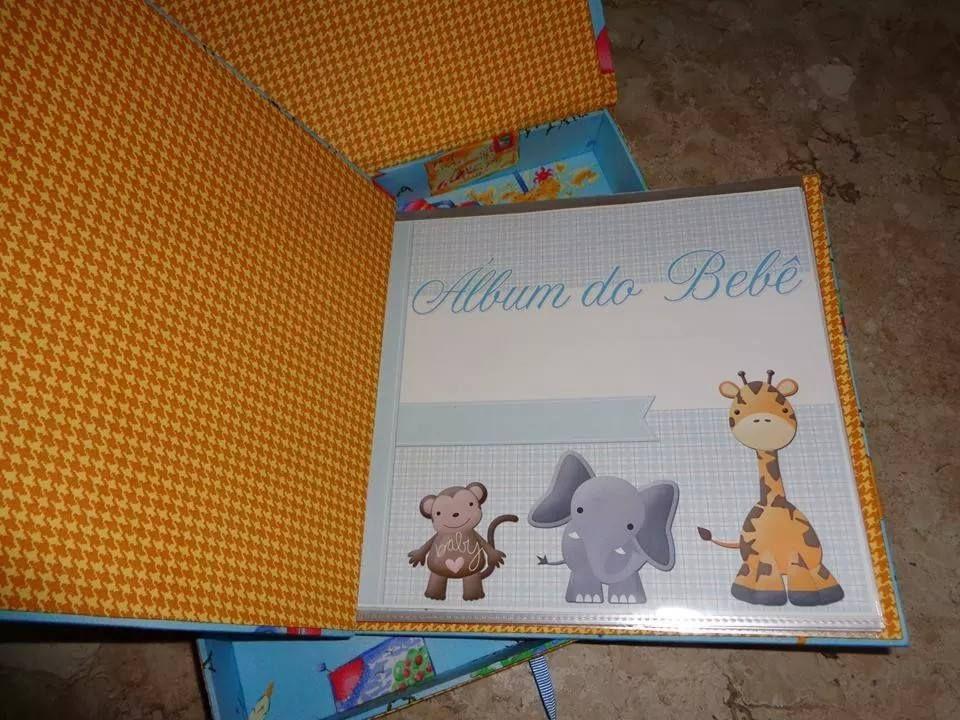 álbum de bebê - menino