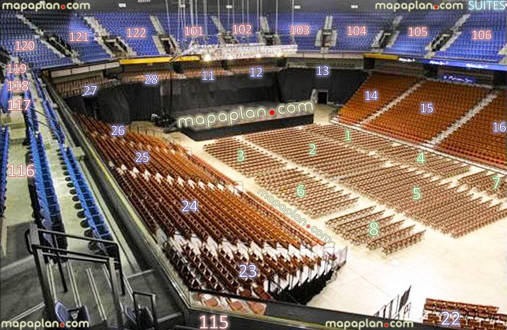 Mohegan Sun Arena Seating Chart Seating Charts Seating Pics