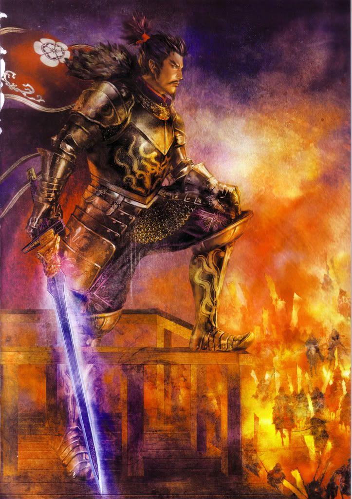 Oda Nobunaga - Samurai Warriors