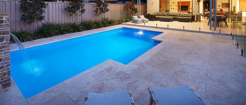 Imperial Fibreglass Swimming Pool - 7m x 4m | Sapphire Pools ...