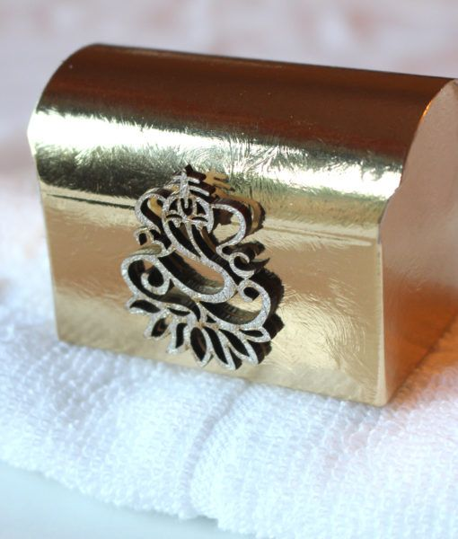 Sanji Reception Ganesh Asian Red Chest Indian Wedding Favours Gift Box