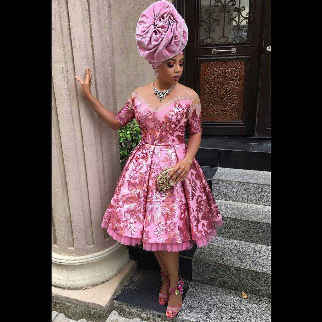 Toke Makinwa Turns Head in Chic Wedding Guest Outfit - Wedding ...