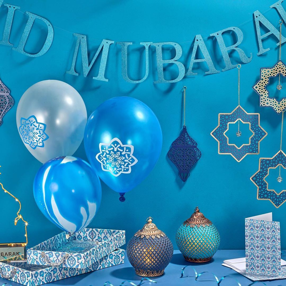 Www Eidparty Co Uk On Instagram Alhumdullah We Have Revamped The Website To Make It Easier For Our Cu Eid Balloons Eid Mubarak Decoration Ramadan Decorations