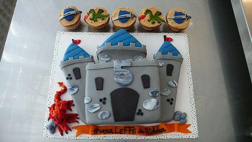 knight cake idea