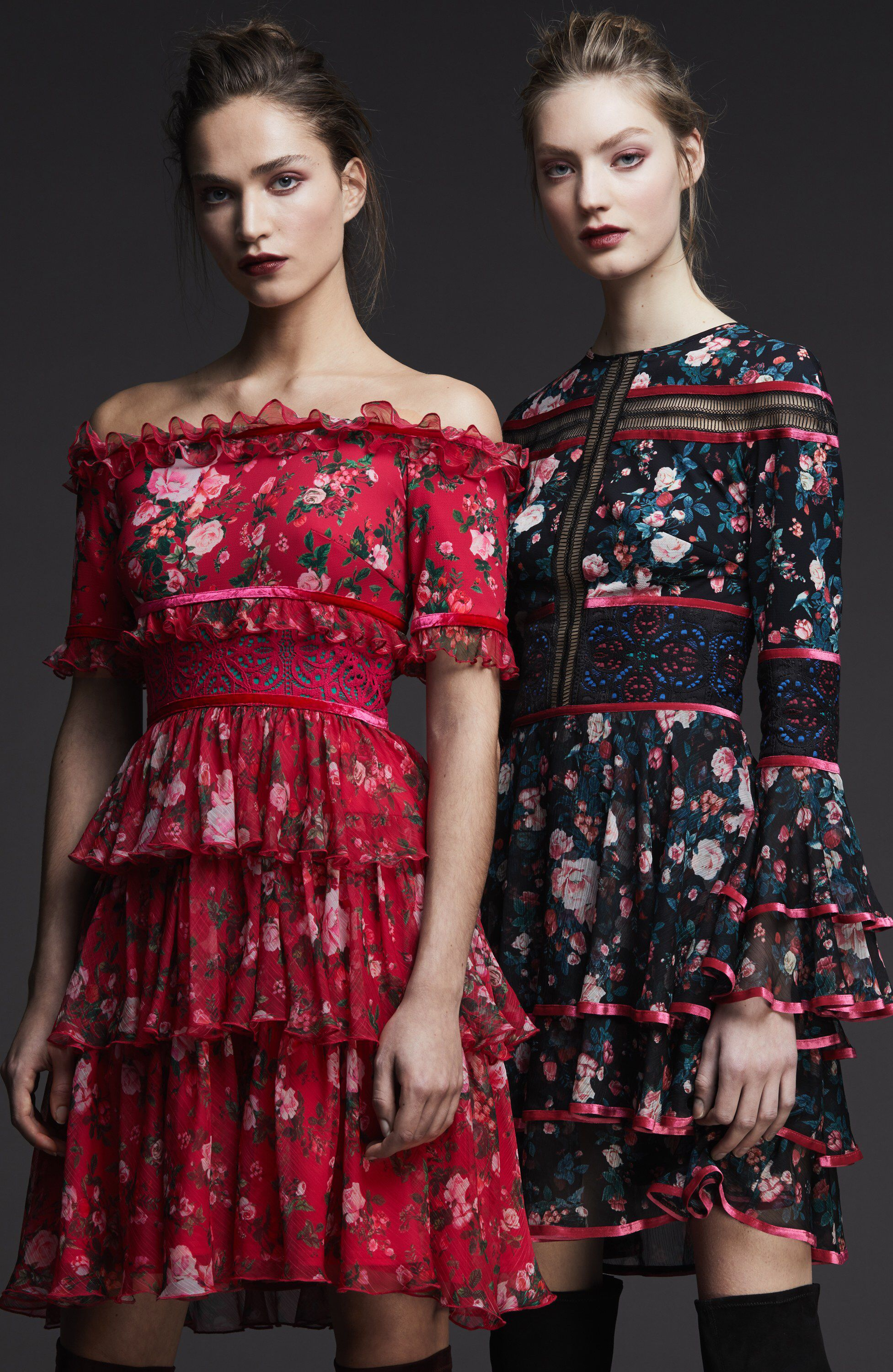 Tadashi Shoji Pre-Fall 2017 Fashion Show Collection