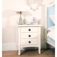 Simply Nordic Classic Bedside Chest with Gustavian Ring Handles