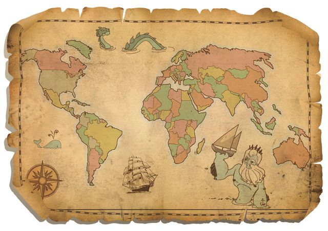 Maoa antiguo 25 free vector world maps vectors pinterest world maoa antiguo 25 free vector world maps gumiabroncs Image collections