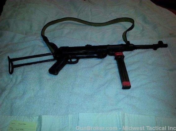German MP 40 Pre 86 Dealer Sample : Machine Guns at GunBroker.com ...